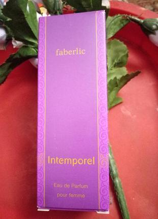 Парфюмерная вода intemporel faberlic