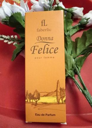 Парфюмерная вода faberlic donna felice