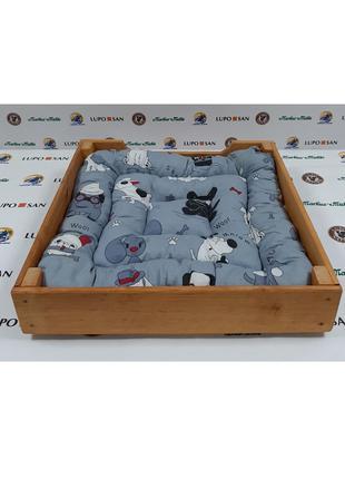 Квадратная лежанка для собак и котов