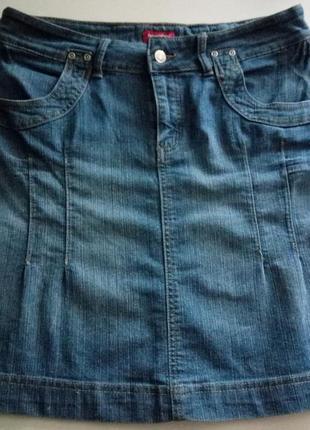 Юбка джинсовая расклешенная Sincere
