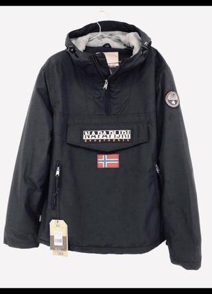 Мужская зимняя куртка napapijri rainforest pocket black