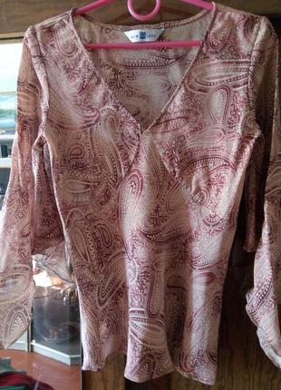 #розвантажуюсь блуза< new look> 100% вискоза