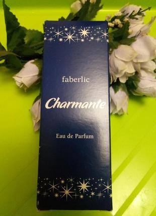 Парфюмерная вода charmante faberlic