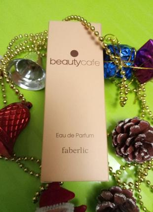 Парфюмерная вода beauty cafe.faberlic