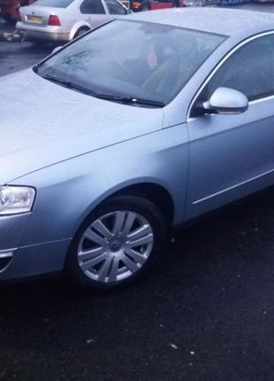 Разборка VW Passat B6 LB5M бампер капот крыло двери крышка багажн