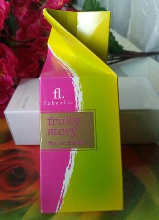 Туалетная вода fruity story.faberlic