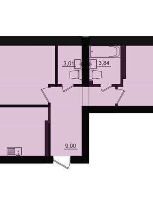 Продам 2 комнатную квартиру у моря
