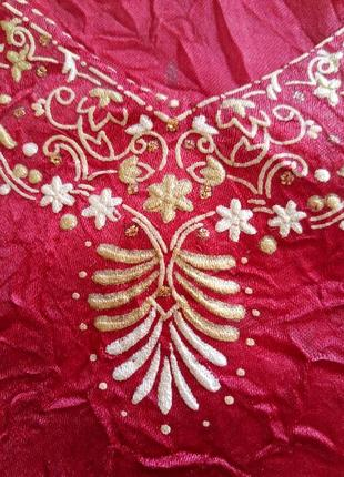 Платье-туника восточный самошитый наряд