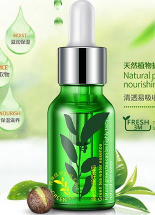 Сыворотка для лица с экстрактом зеленого чая увлажняющая rorec