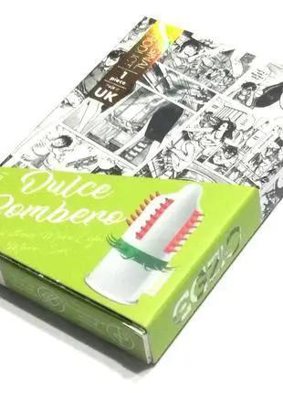 Презерватив с усиками EGZO CDulce Bombero (новый дизайн)