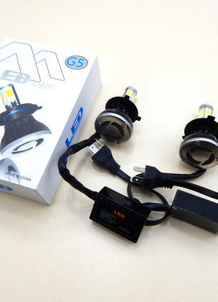 Светодиодные лампы LED H4 G5 2шт (ближний, дальний) 6000K