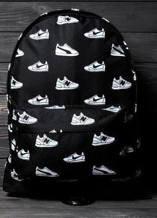 Рюкзак с принтом кроссовок