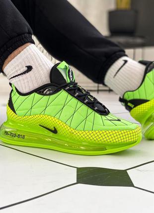 Кроссовки nike air max mx-720 green neon