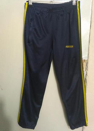Спортивные штаны с небольшим начёсом на рост 140 см
