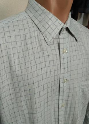 Распродажа рубашек! рубашка в клетку с длинным рукавом