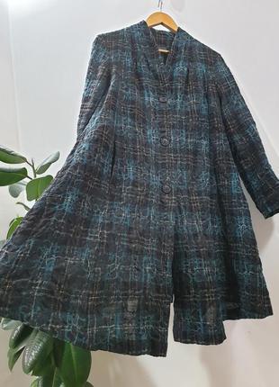 Длинный пиджак пальто oska