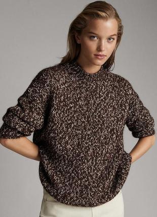 Шикарный свитер massimo dutti.