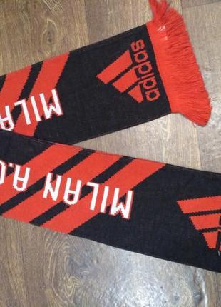 Спортивный шарф adidas фк милан