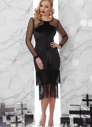 Шикарное нарядное платье на новый год