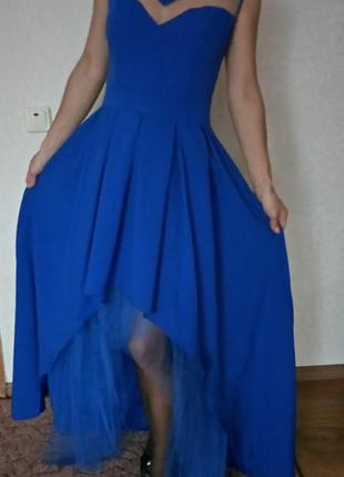 Шикарное вечернее платье на новый год