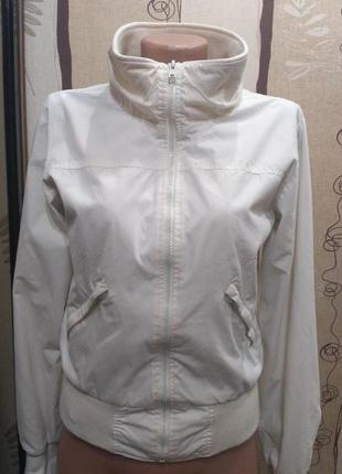 Белая ветровка, куртка vila clothes размер s