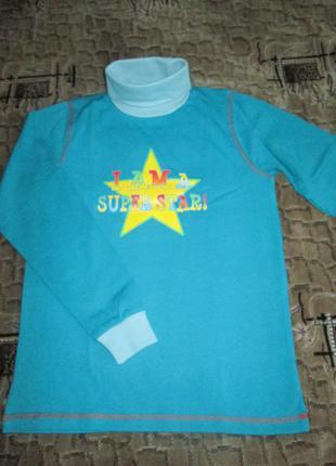 Новая водолазка для девочки до-ре-ми супер-звезда микроначёс