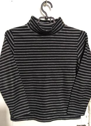 Флисовый гольф, свитер, водолазка на рост 140 см