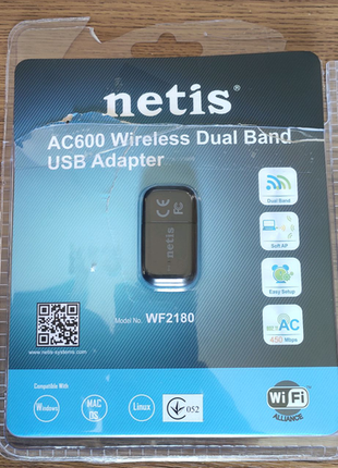 WIFI сетевая карта USB adapter NETIS WF2180  AC600