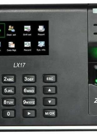 Система контроля рабочего времени по отпечатку пальца