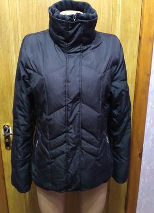 Натуральный пуховик, куртка esprit размер l