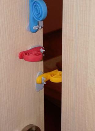 3 шт. Ограничитель двери, блокиратор, стоппер, Улитка