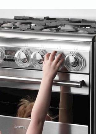2 шт! Защита на плиту для детей, крышки для ручек газовой плиты