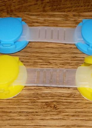 5 шт. Замок блокиратор пластиковый от детей на мебель