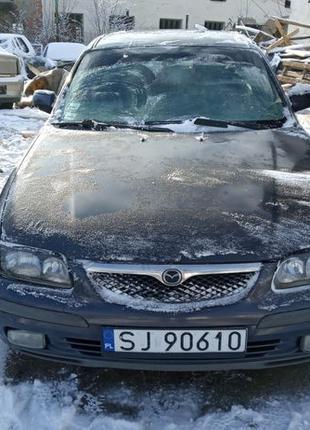 Разборка запчасти шрот Mazda 626 зеркало стекло радиатор старт...