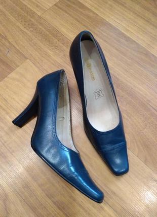 Туфли лодочки blue motion, кожа
