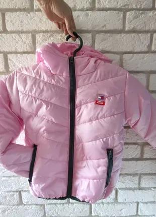 Куртка на девочку весна/осень рост от 116-140