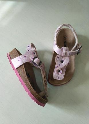 Walkx. ортопедические сандалии, босоножки на пробковой подошве