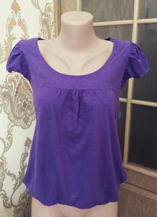 Next. фиолетовая женская футболка