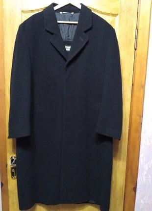 Henry morell. Мужское шерстяное демисезонное пальто, размер 6xl