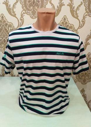 Mitch & co полосатая футболка