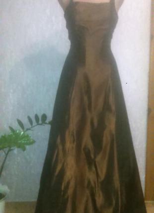 Вечернее платье для дюймовочки