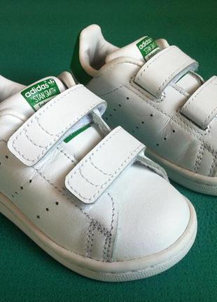 Мега стильные кожаные кроссовки adidas stan smith 👟 размер 21 ...