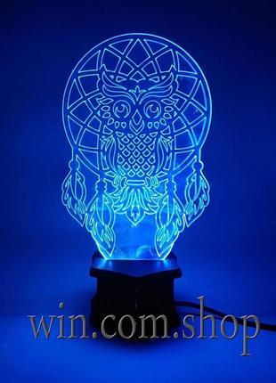 3D нічники, акрилові лампи, світильники, ночники, подарунок