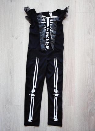 Костюм скелет комбинезон