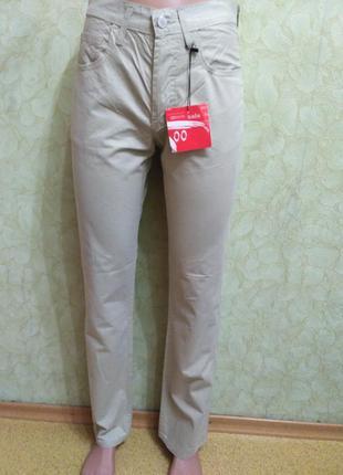 Летние тонкие прямые джинсы motor jeans, размер w27 l32