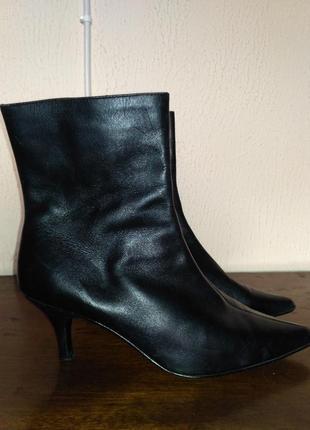 Кожаные ботиночки next 37 размер