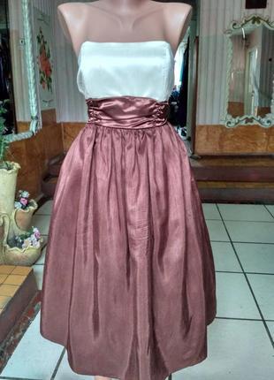 Платье бюстье с пышной юбкой размер м