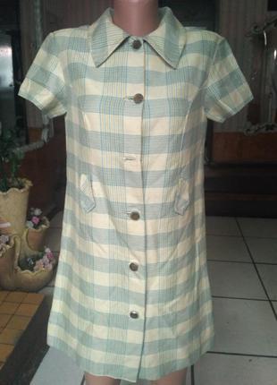 Платье рубашка на подкладе