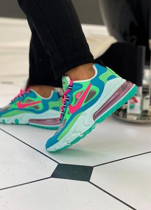 Стильные кроссовки 😍 nike air max 270 react mystic blue lagoon 😍
