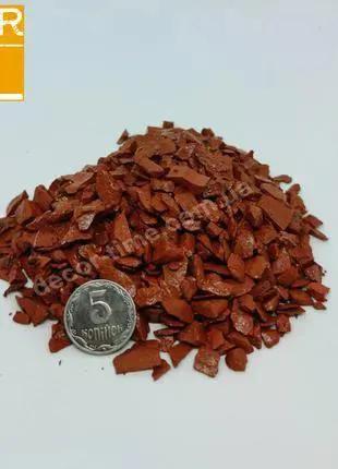 Декоративный цветной щебень , оранжевый (827205)